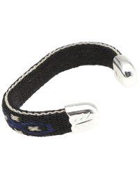 Chamula - Black Bendable Bracelet for Men - Lyst