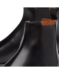 Givenchy - Black Leather Chelsea Boot for Men - Lyst