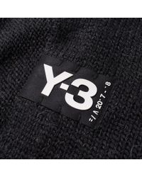 Y-3 | Black Badge Scarf for Men | Lyst