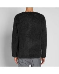 Our Legacy - Black Mohair Cardigan for Men - Lyst