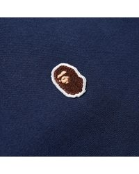 A Bathing Ape - Blue Ape Head One Point Tee for Men - Lyst