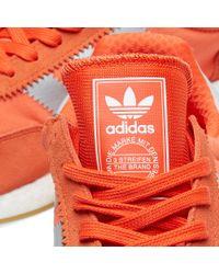 Adidas Originals - Orange Women's Iniki Runner W - Lyst