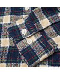 Portuguese Flannel - Blue River Button Down Check Shirt for Men - Lyst