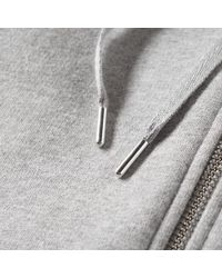 Sunspel | Gray Loopback Zip Hoody for Men | Lyst