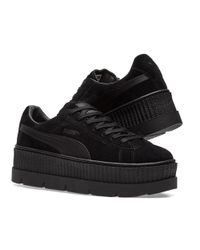 PUMA | Black X Fenty By Rihanna Cleated Creeper | Lyst