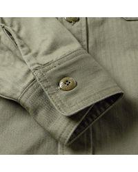 (w)taps - Green Buds Hbt Shirt for Men - Lyst