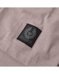 Belstaff - Purple Thom Pocket Tee for Men - Lyst