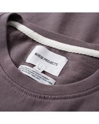 Norse Projects - Gray Long Sleeve James Dry Cotton Tee for Men - Lyst