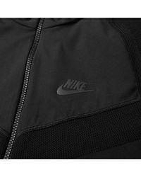 Nike - Black Tech Knit Jacket for Men - Lyst