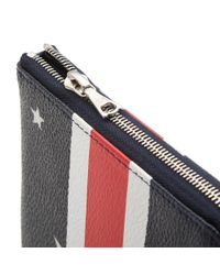 Uniform Experiment - Black Star Stripe Small Wallet for Men - Lyst