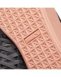 PUMA Black Platform Sunfaded Stitch
