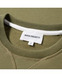Norse Projects - Green Ketel Logo Crew Sweat for Men - Lyst