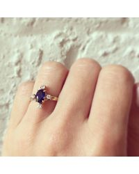 Erica Weiner - Multicolor Cardinal Points Sapphire And Diamond Ring - Lyst