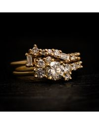 Erica Weiner | Multicolor Fairmined Diamond Cluster Band | Lyst