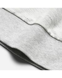 Everlane - Gray The Reverse French Terry Sweat Tee for Men - Lyst