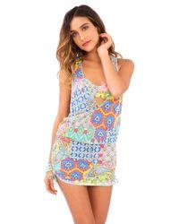 Luli Fama | Blue Tank Dress | Lyst