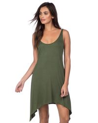 Lucky Brand | Green Tank Dress | Lyst