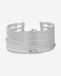 Express | Metallic Multi Chain Bracelet | Lyst