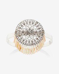 Express | Metallic Embellished Filigree Cuff | Lyst