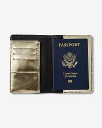 Express - Black Be There In A Prosecco Passport Holder - Lyst