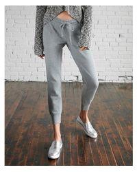 Express | Gray Heathered Jogger Pant | Lyst
