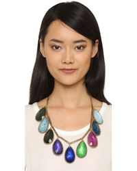 Erickson Beamon - Multicolor Hyperdrive Teardrop Necklace - Lyst