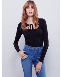 Free People | Black Womens Wrapped Around Your Finger Top | Lyst