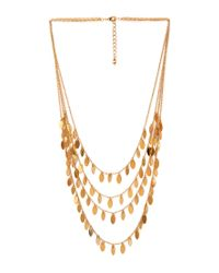 Forever 21 | Metallic Minimalist Layered Fringe Necklace | Lyst