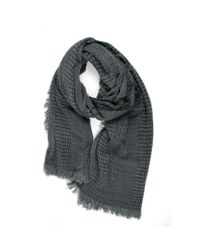 Michael Stars | Gray Plush And Cozy Wrap | Lyst