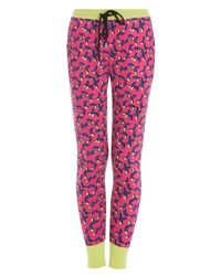 Markus Lupfer | Pink Bananas Print Knit Joggers | Lyst
