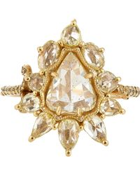 Sharon Khazzam - Metallic Women's Lily Princess Ring - Lyst