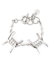 Ambush | Metallic Barbed Wire Bracelet | Lyst