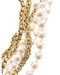 Rosantica By Michela Panero - Metallic Himalaya River-Pearl Necklace - Lyst