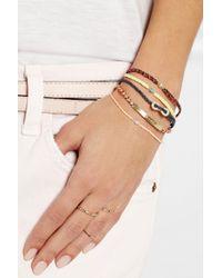 Scosha | Orange Woven Diamond Bracelet | Lyst