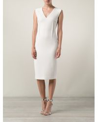 Roland Mouret | White Wezen Dress | Lyst