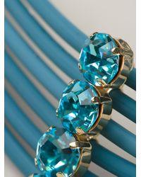 Silvia Gnecchi - Blue Six Circle Necklace - Lyst