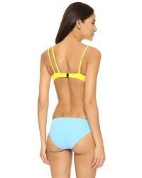 Araks - Yellow Elias Bikini Top - Lyst