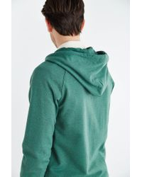 BDG - Green Gym Raglan Zip Hooded Sweatshirt for Men - Lyst