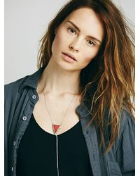 Free People | Orange Karen London Womens Heart Breaker Bolo Pendant | Lyst