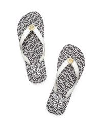 Tory Burch | White Thin Flip-flop | Lyst