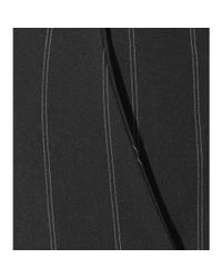 Ellery - Black Radical Pinstripe Flared Pants - Lyst