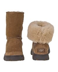 UGG - Brown Ultimate Tas Suede Boots - Lyst