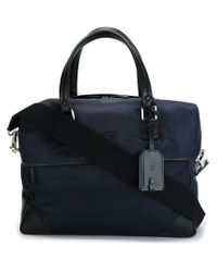 Canali | Blue 'walk' Bag for Men | Lyst