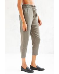Kimchi Blue - Natural Apron Cross-over Pant - Lyst
