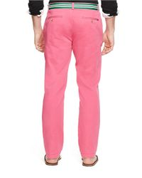 Polo Ralph Lauren | Pink Classic-fit Flat-front Chino Pants for Men | Lyst