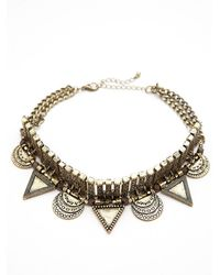 Free People | Metallic Cleopatra Metal Choker | Lyst