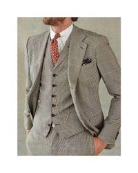 Rrl Glen Plaid Wool Sport Coat In Black For Men Lyst