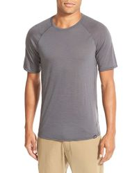 Patagonia | Gray Base Layer Merino Wool Blend Performance T-shirt for Men | Lyst