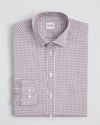 Armani - Multicolor Check Dress Shirt - Regular Fit for Men - Lyst
