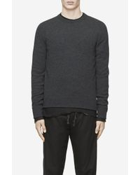 Rag & Bone | Gray Nathan Crew for Men | Lyst